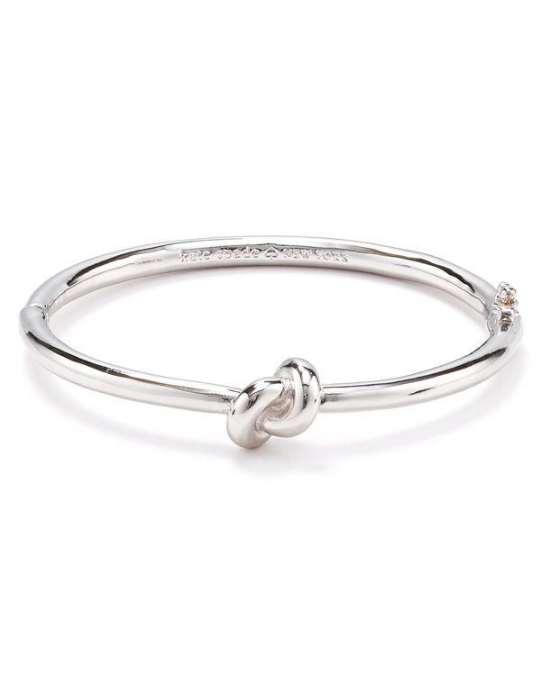 Kate Spade New York Sailor S Knot Hinge Bangle Bloomingdale Cute Bridal Party Gift Also Comes In Silver