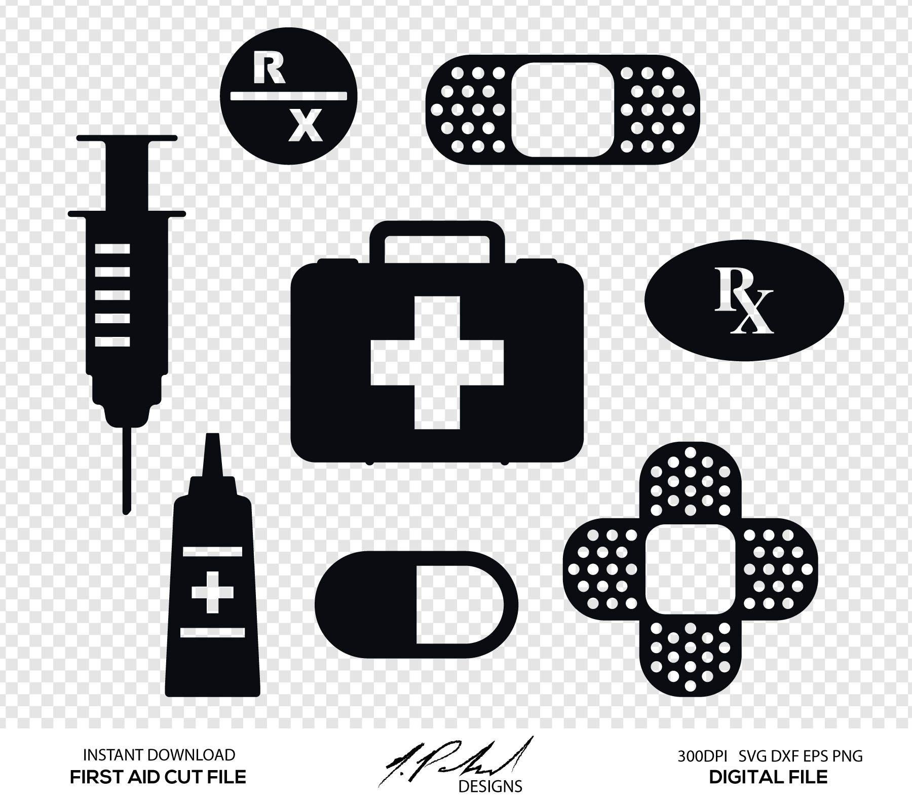 First Aid Digital Cut Files