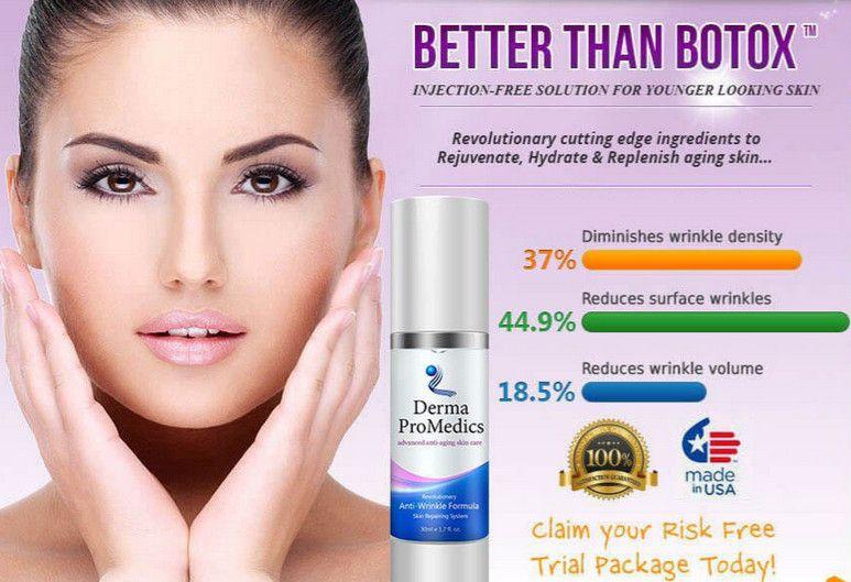 Derma Promedics Advanced Anti Aging Skin Care Serum Anti Wrinkle Serums Anti Aging Serum Anti Aging Face Cream