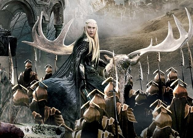 Feanory Thranduil On The Battle Of Five Armies Tapestry Artwork X Its Like Ancient God Arriving And Yay For Return