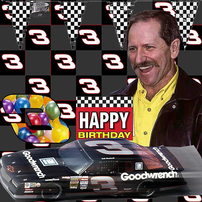 Happy Birthday To Dale Earnhardt Sr