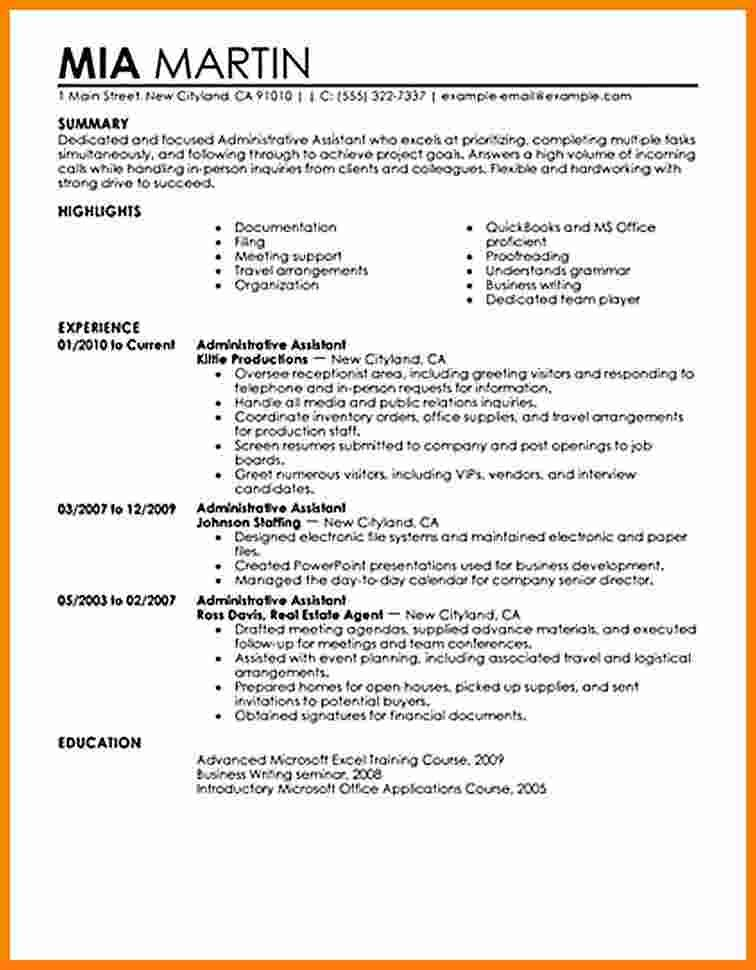 Great Career Change Resume Template Ideas