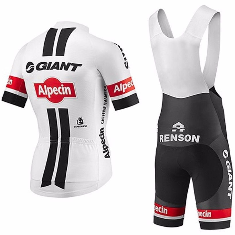 6240c68fa 2017 Team Alpecin Giant Pro Cycling Jerseys White Red