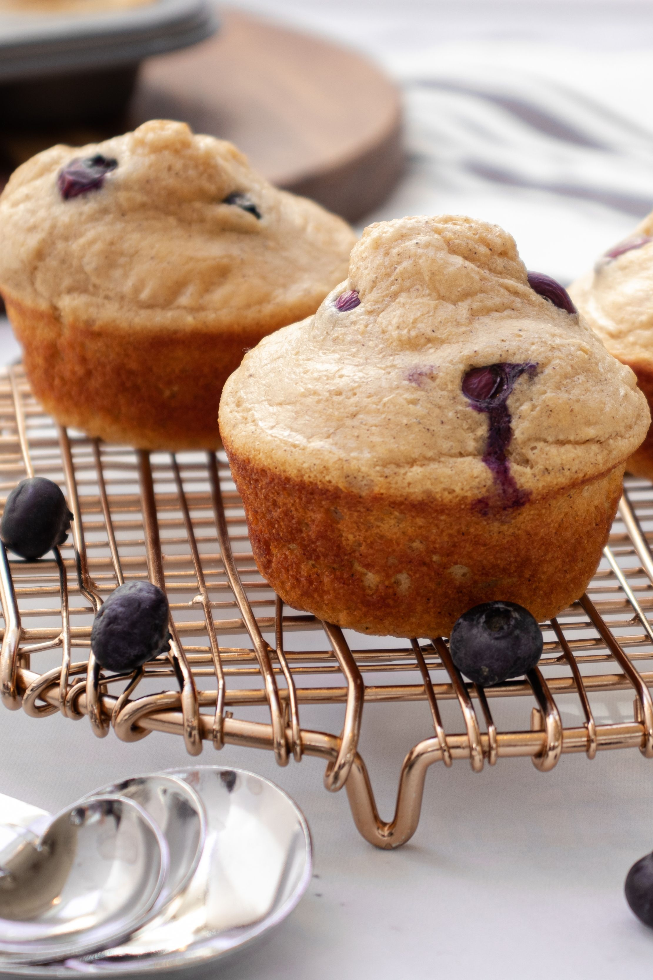 Blueberry pancake protein muffins ingredients kodiak