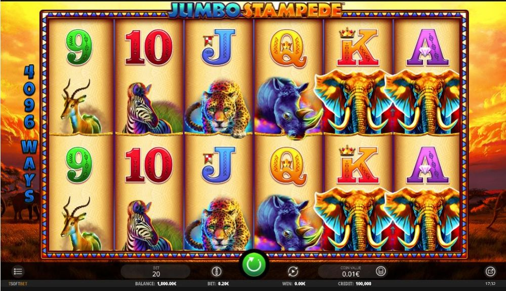 African Stampede Slot Machine