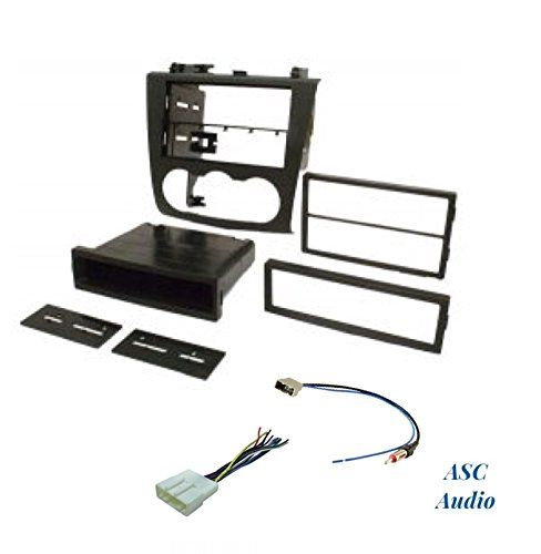 Premium Model ASC Audio Car Stereo Install Dash Kit, Wire ... on nissan exhaust, nissan oil filter, nissan lights, nissan brakes, nissan fuel pump, nissan radio harness, nissan fuse, nissan alternator, nissan ecu, nissan timing belt, nissan water pump, nissan transformer, nissan starter, nissan headlights, nissan radiator, nissan speedometer, nissan body harness, nissan throttle body, nissan engine, nissan timing chain,