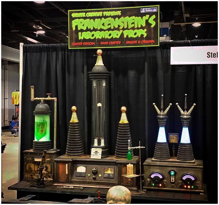 Frankenstein Laboratory Props Httpwww