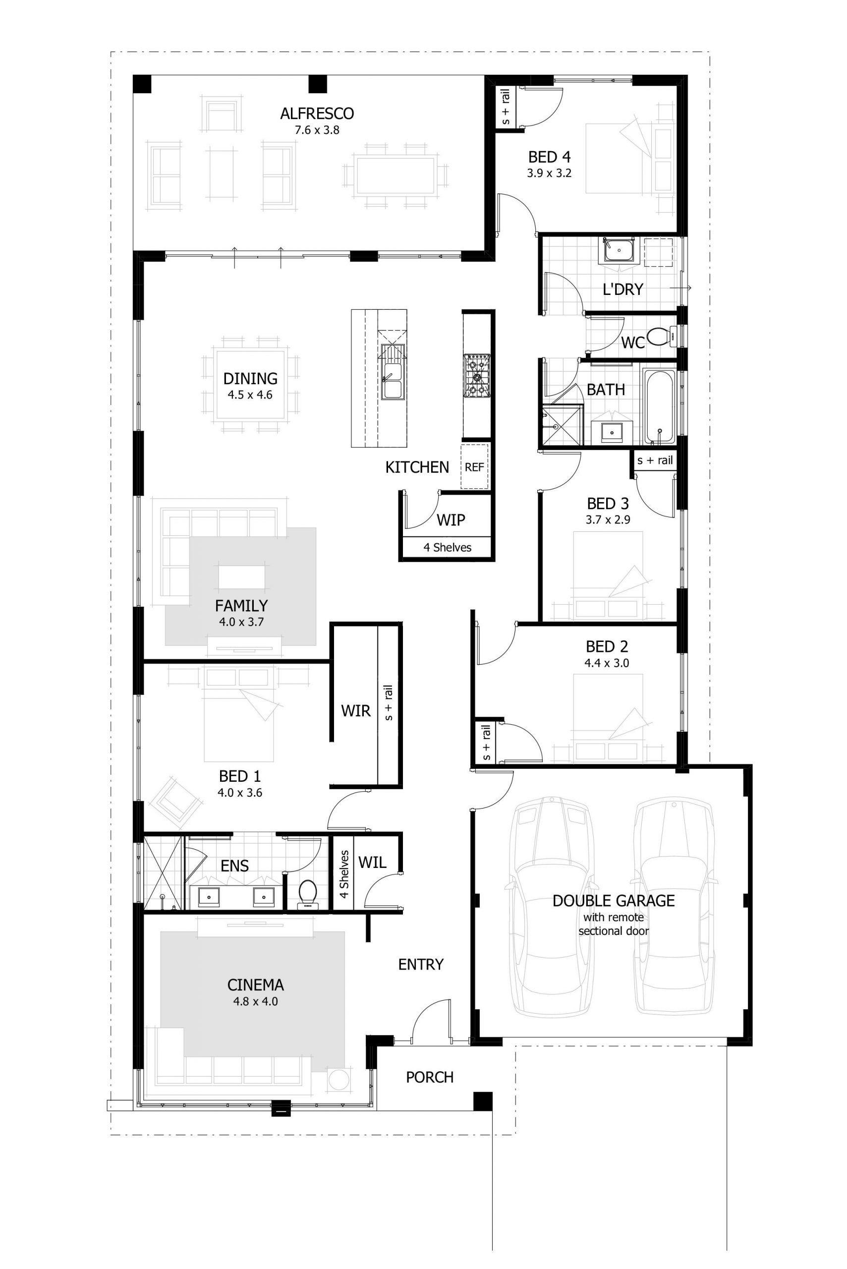 Best Open Floor Plans 2017 2021 Home Design Floor Plans House Plans Australia 4 Bedroom House Plans
