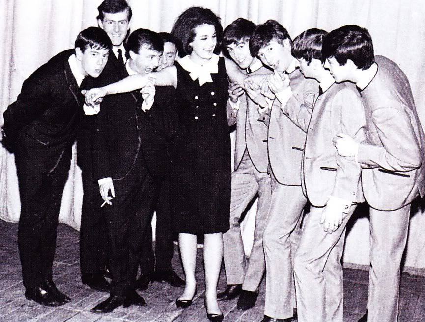Gerry and The Pacemakers, Louise Cordet & The Beatles.