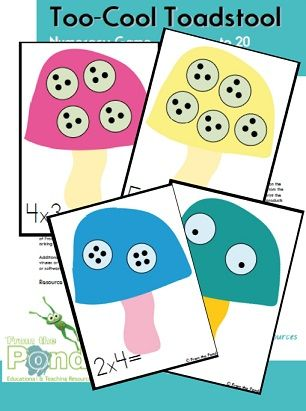 Too Cool Toadstool - Multiplication Equal Groups game | Fairies ...