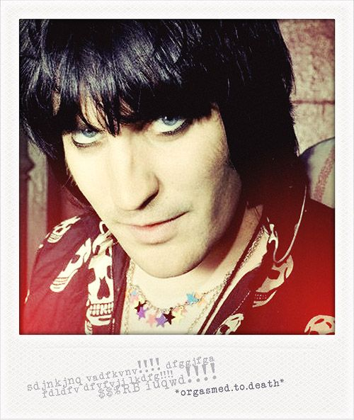 Noel Fielding. I can't explain it. But the man does funny things to all my bits.