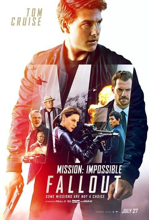 New Mi6 Fallout Poster Mi6 Fallout Starring Tom Cruise In