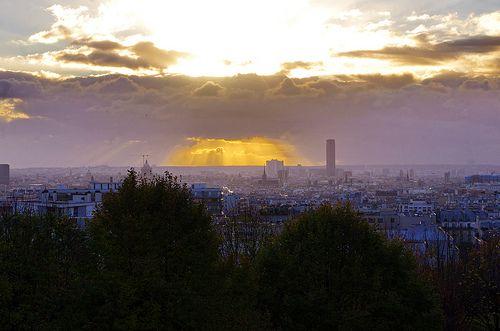 Paris, Jardin de Belleville 3   Monument valley, Explore, Natural landmarks