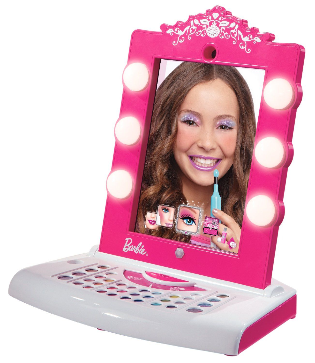 Toys And Gifts : The totally awesome barbie digital makeover mirror for