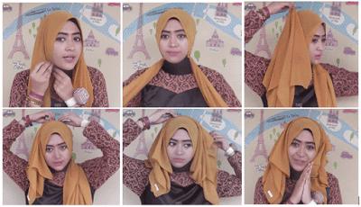 Tutorial Hijab Pashmina Ala Ria Ricis Gaya Hidup