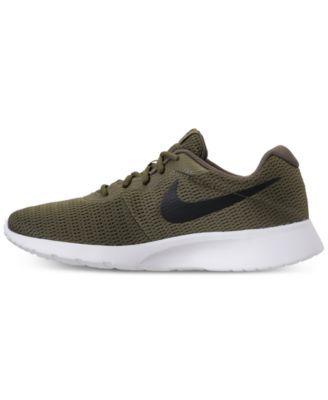 Nike Men s Tanjun Casual Sneakers from Finish Line - Brown 11.5 6bc318337
