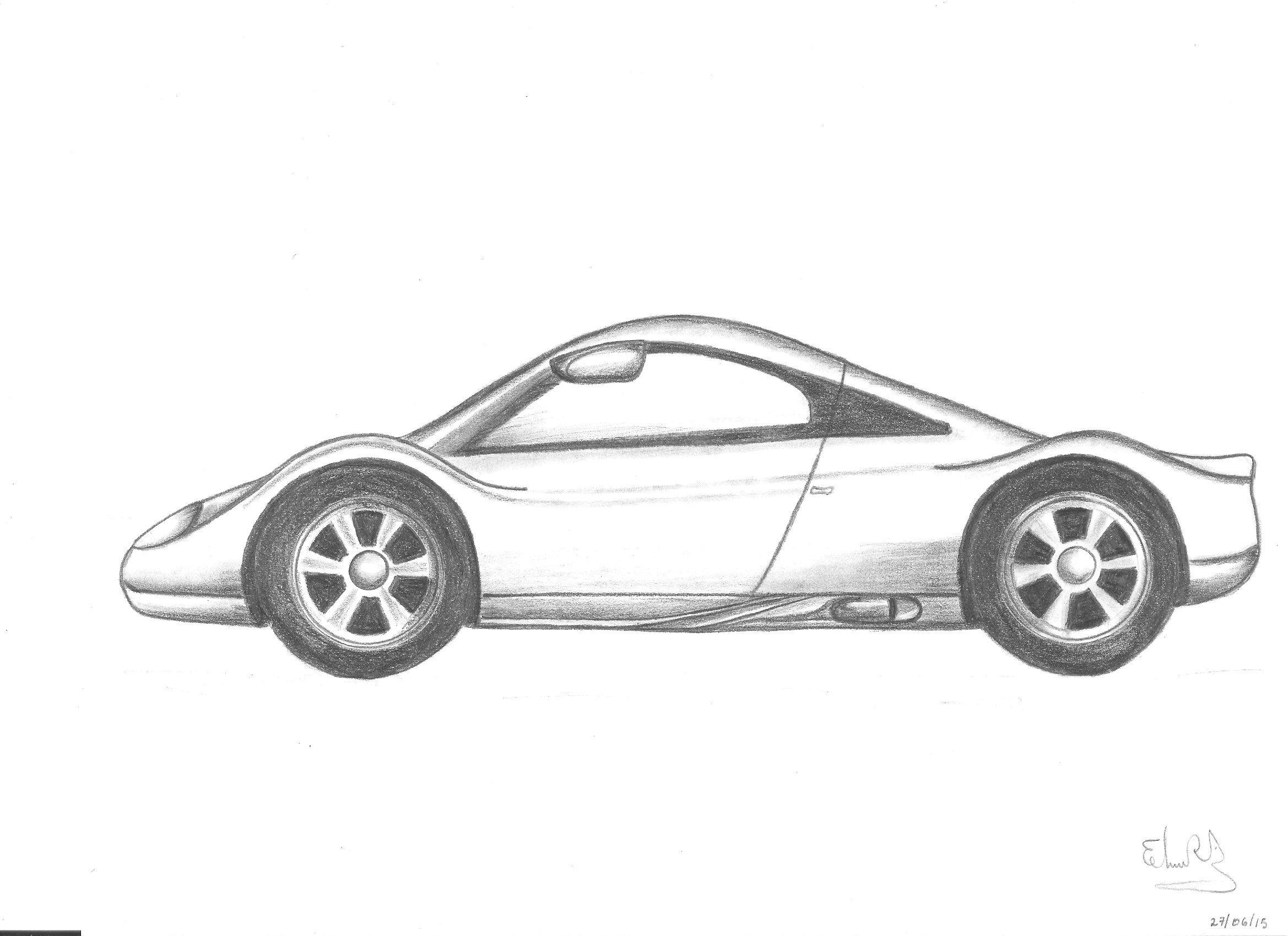 Boceto-Audi Avus