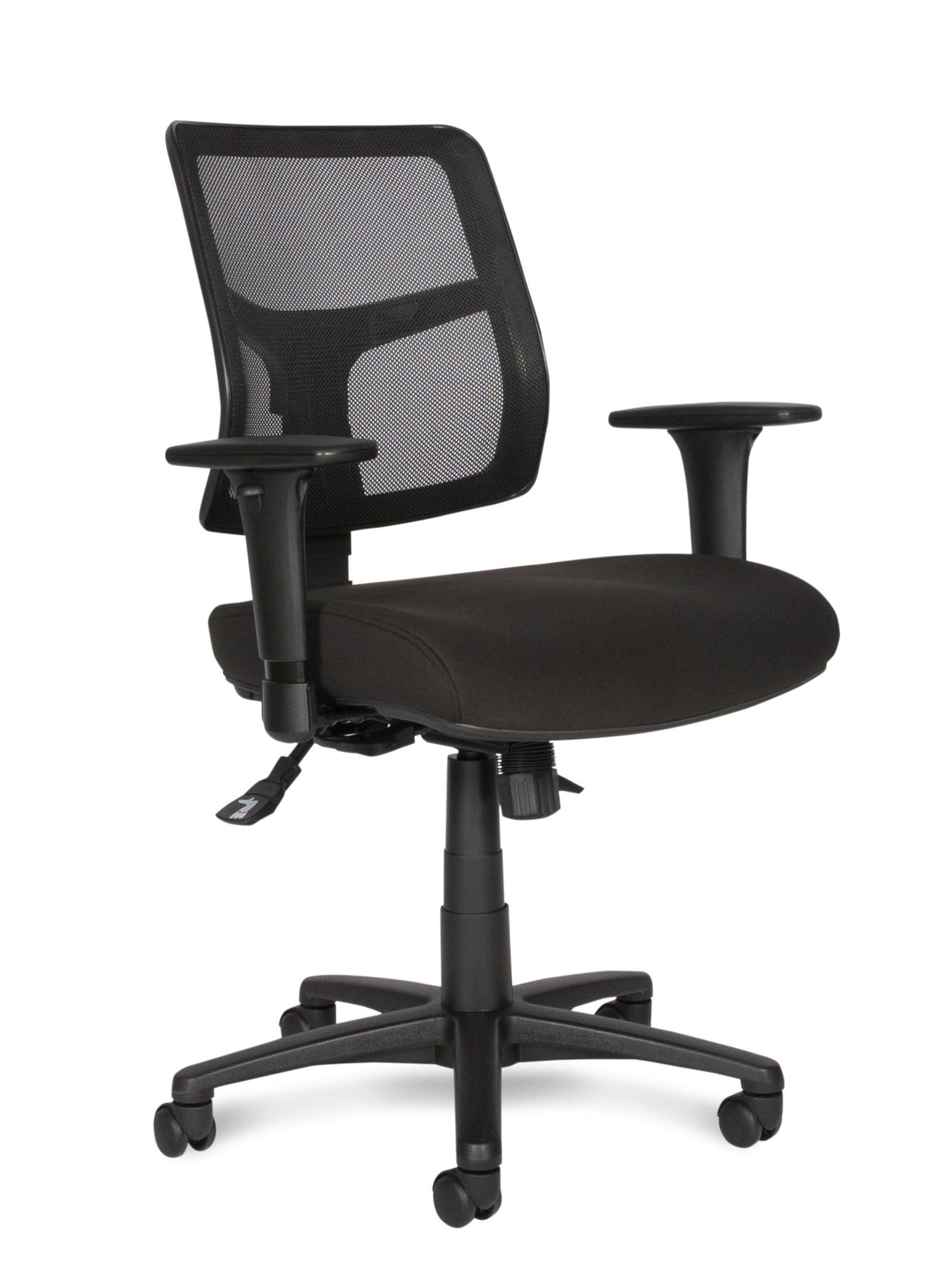 Sway With Black Mesh Fabric Seat And Arms Office Furniture