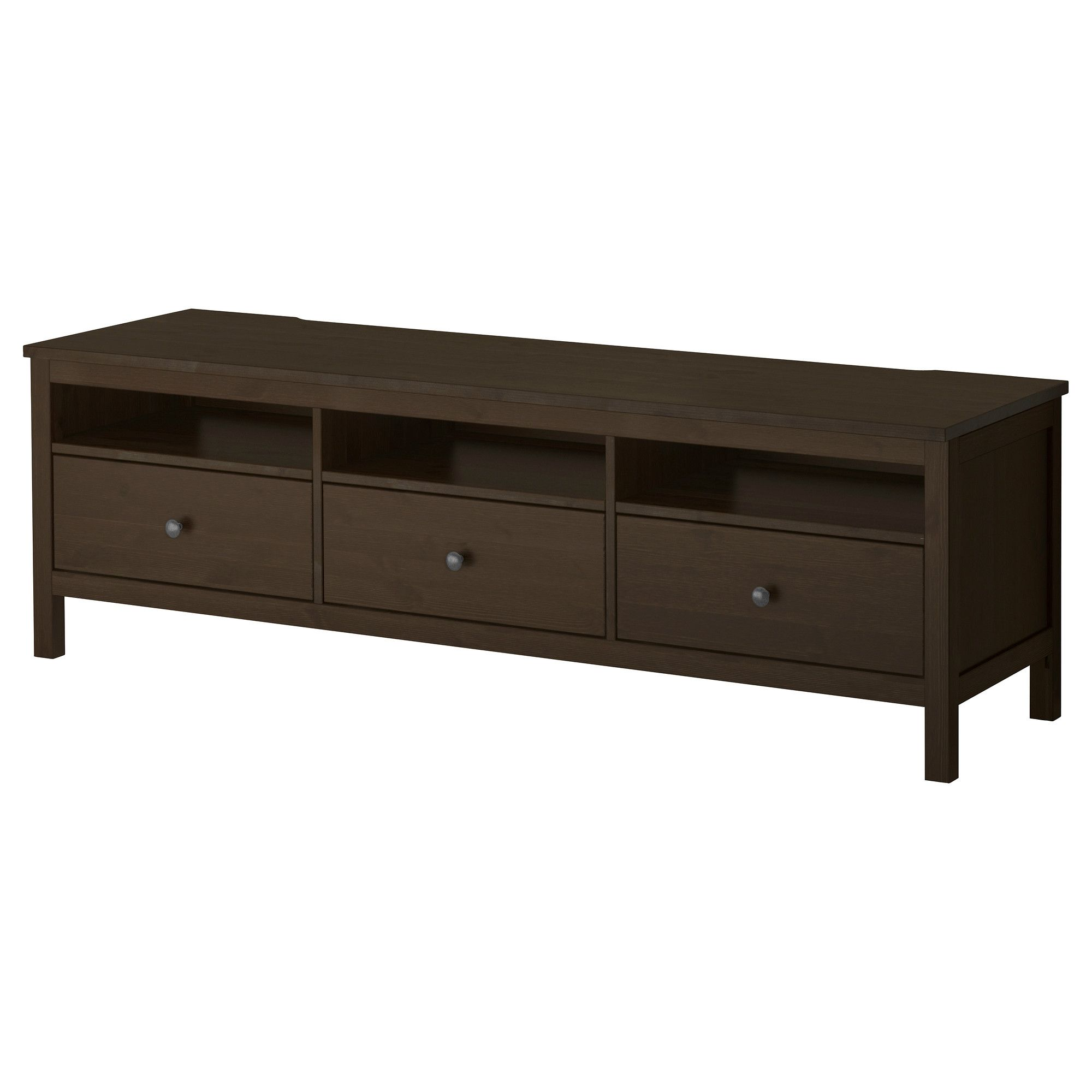hemnes tv unit black brown ikea 229 1x penthouse