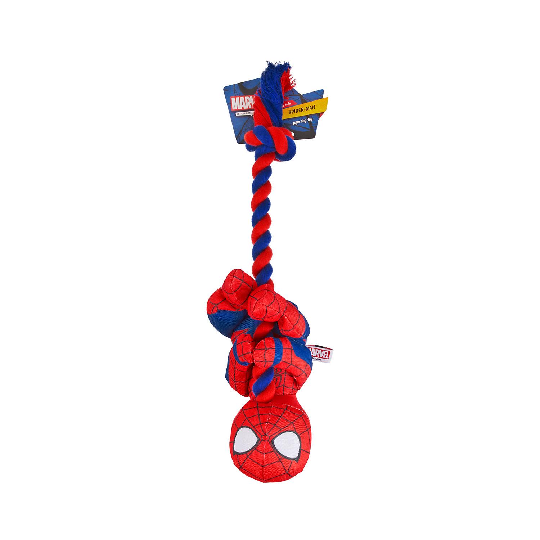 Marvel Spider Man Plush And Rope Dog Toy Large Dog Toys Dog