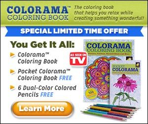 Colorama Is The Coloring Book That Helps You Unwind While Developing Something Remarkable