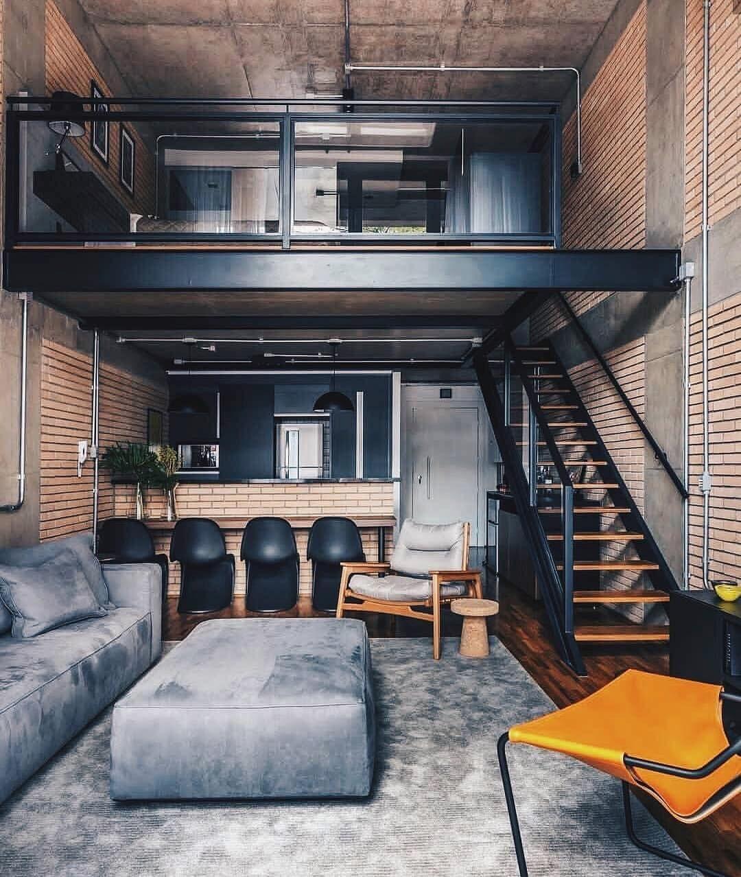 Loft Interior Design, Home