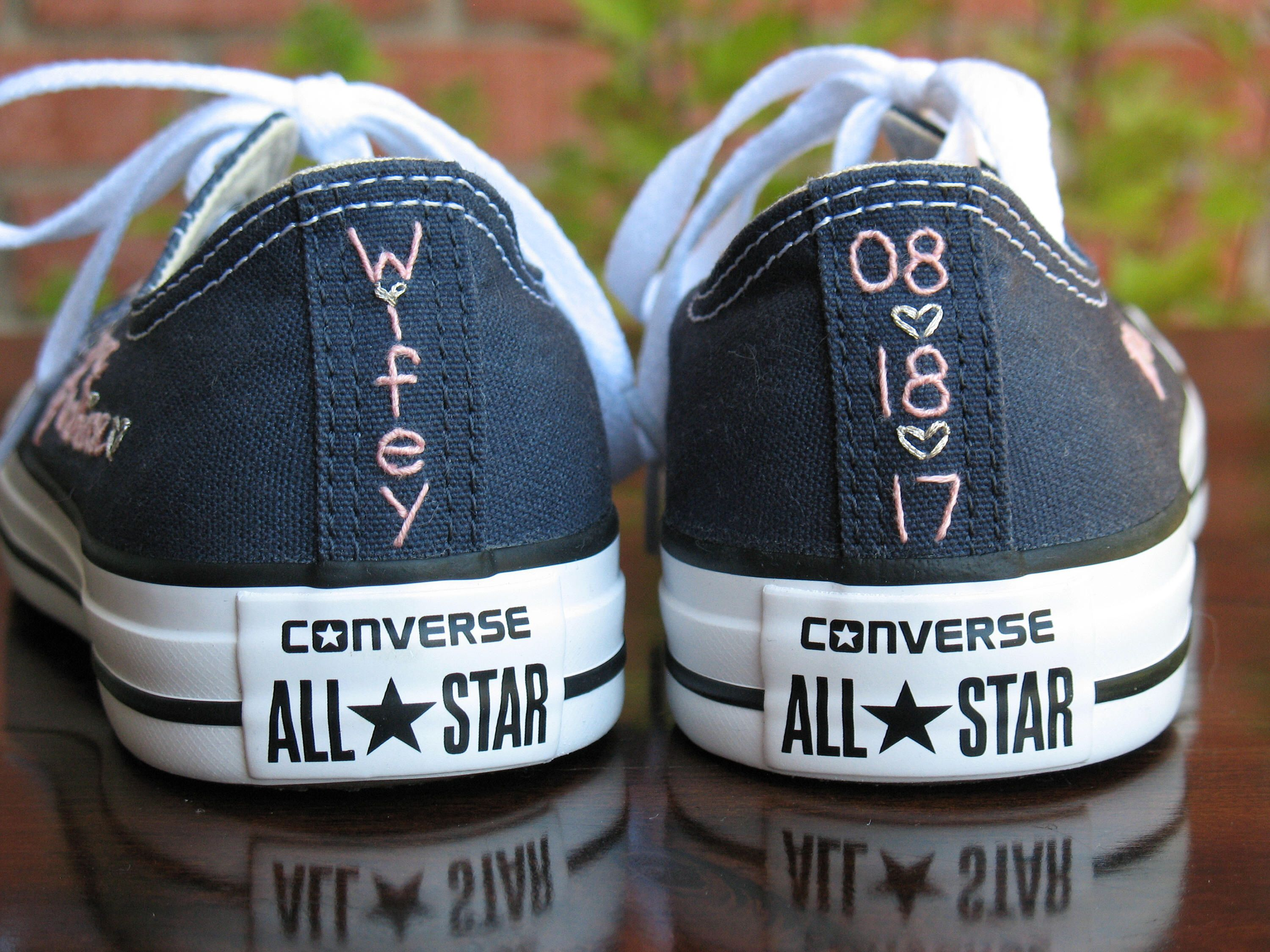 personalized converse tennis shoes