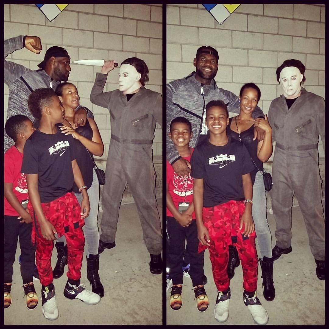 The James Boyz Lebron James Jr Lebron James Family Lebron