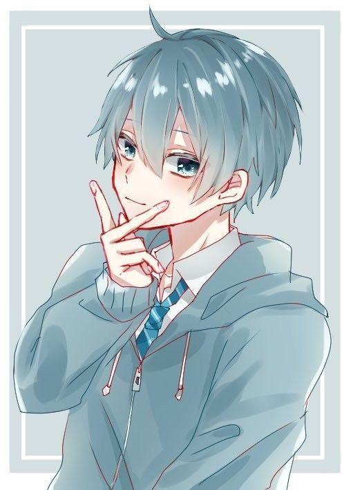 Anime Guys Hair Anime Guys In 2020 Cute Anime Character Anime Anime Drawings Boy