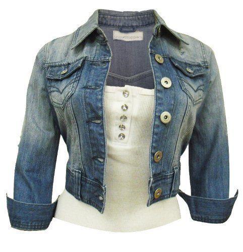 Women S Denim Blue Jacket 6 16 Amazon Co Uk Clothing