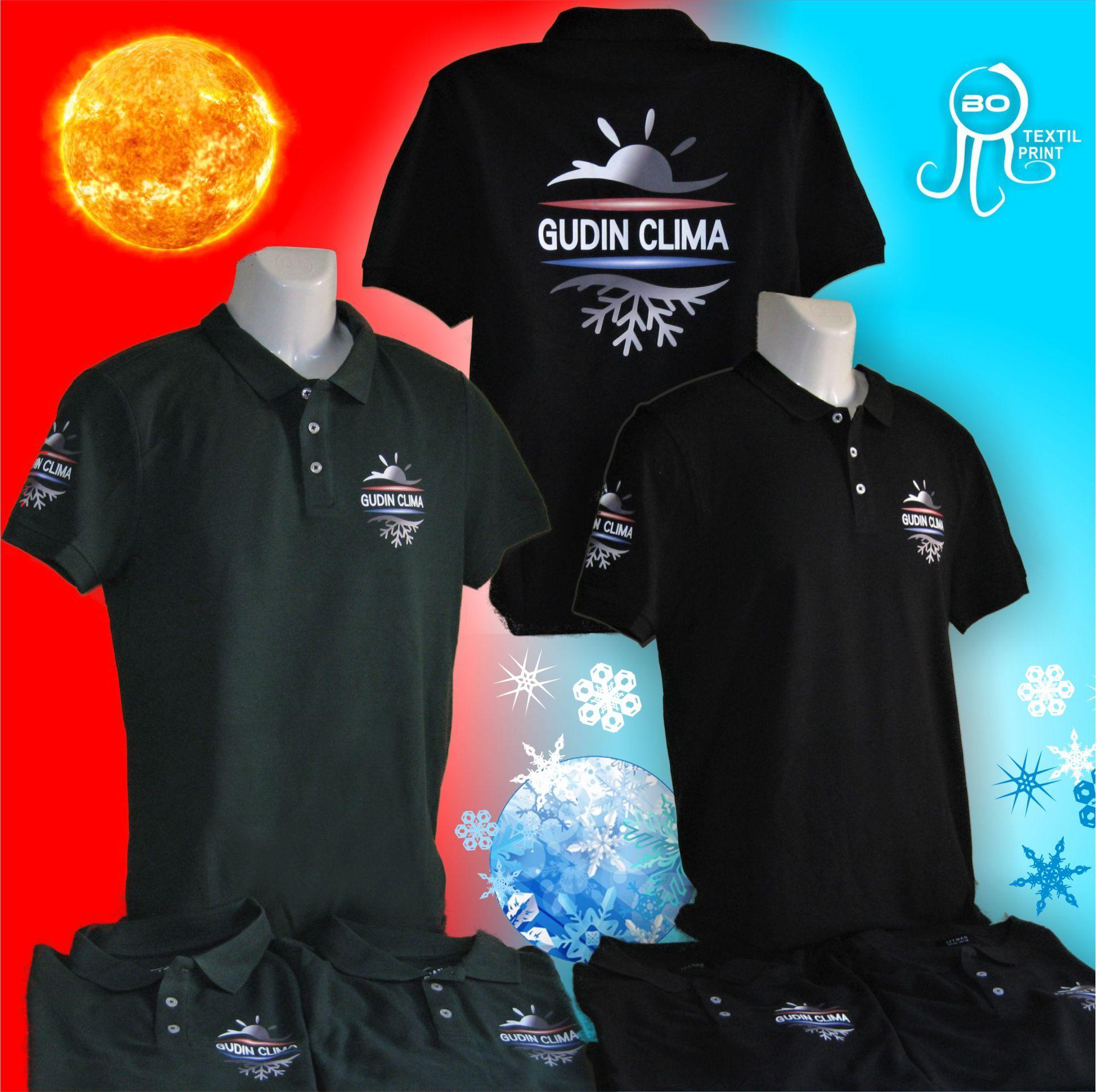 Polos Gudin Clima. www.botextilprint.es  botextilprint  serigrafia  bordado    7e77336b9083a