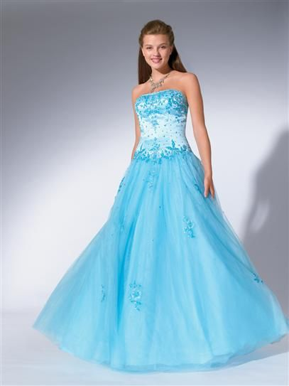 wholesale Blue Strapless