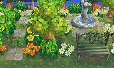 Epingle Par Arrlowe Sur Acnl Nature Forest Animal Crossing Astuce Motif Acnl Foret