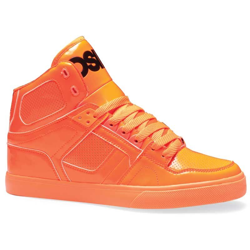 Osiris NYC 83 VLC Men's Skate Shoes Orange/Black/Lte #osirisshoes