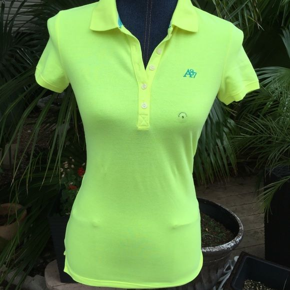 Today 15% off New Aeropostale top Price reflects discountBrand new beautiful bright yellow top ready for a sporty posher girl Aeropostale Tops Tees - Short Sleeve