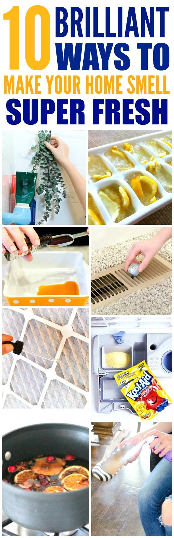 These 10 Easy Ways To Make Your Home Smell Good And Fresh Are The Best I M So Glad Found Awesome Tips Now Have A Great Way My