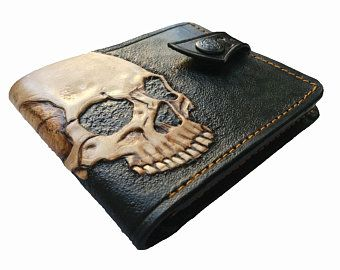 League of Legends, Twisted Fate, the Card Master, Cowboy, Genuine Leather wallet, Mens wallet, Hand-Carved, Hand-Painted, Leather Carving
