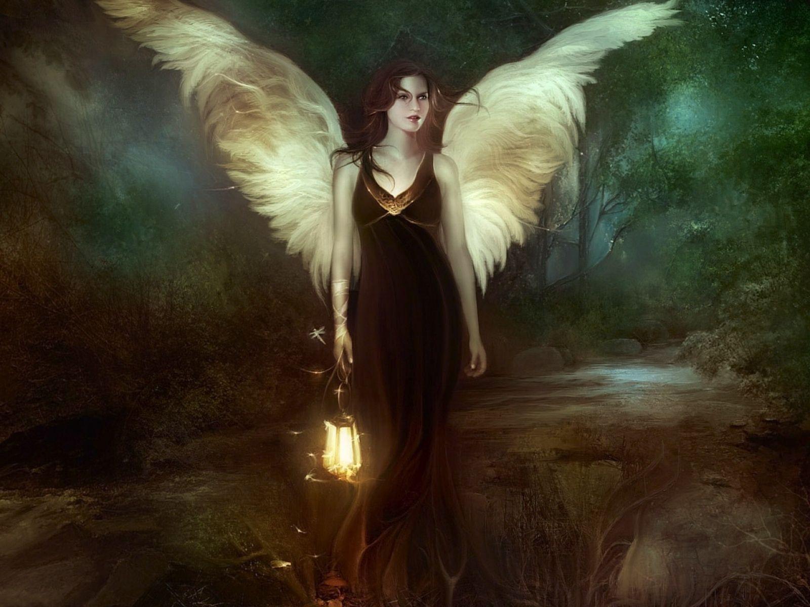 fond d'ecran gratuit elfes et anges