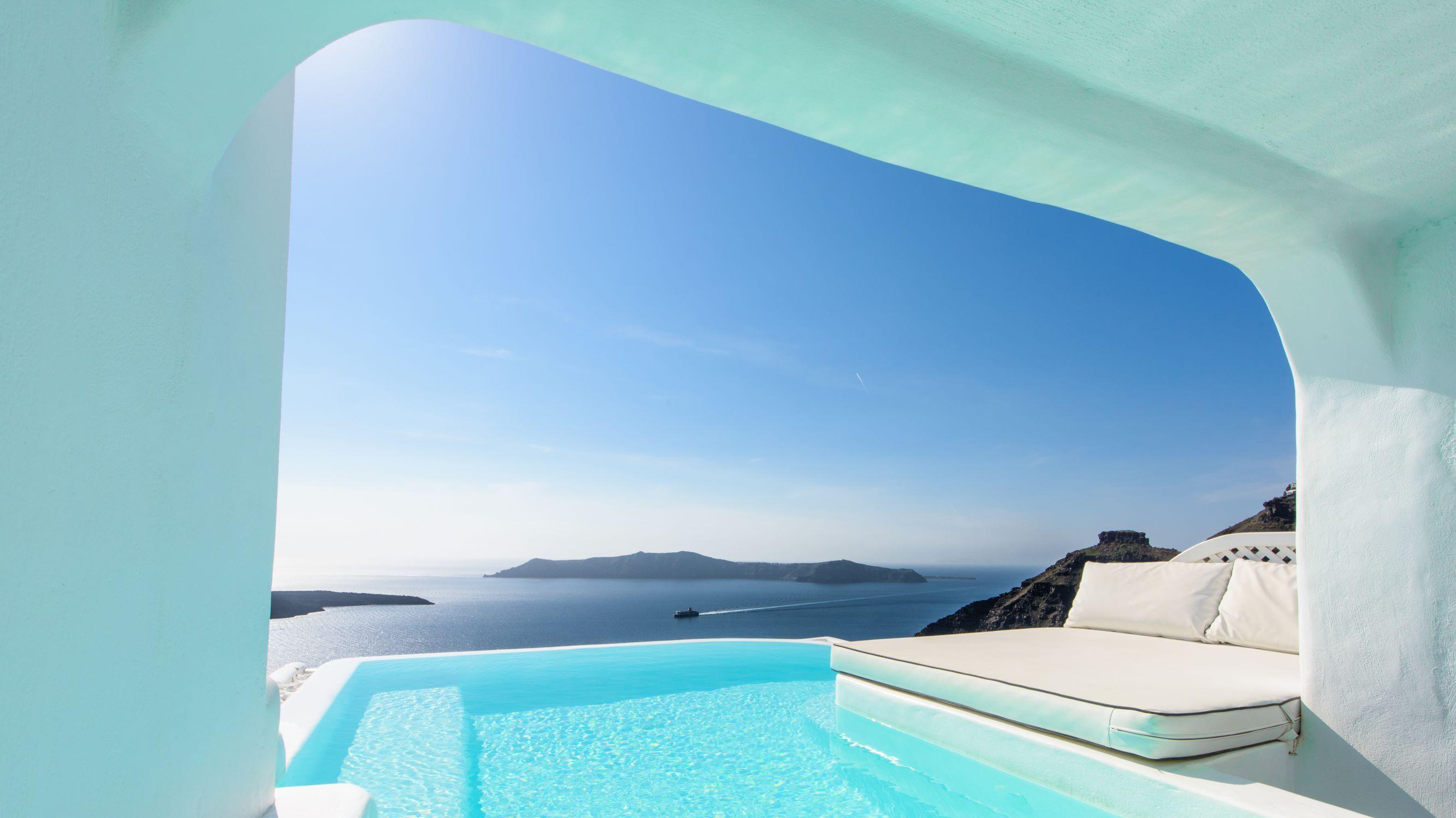 Private Pool Villa Dana Villas Infinity Suites Santorini