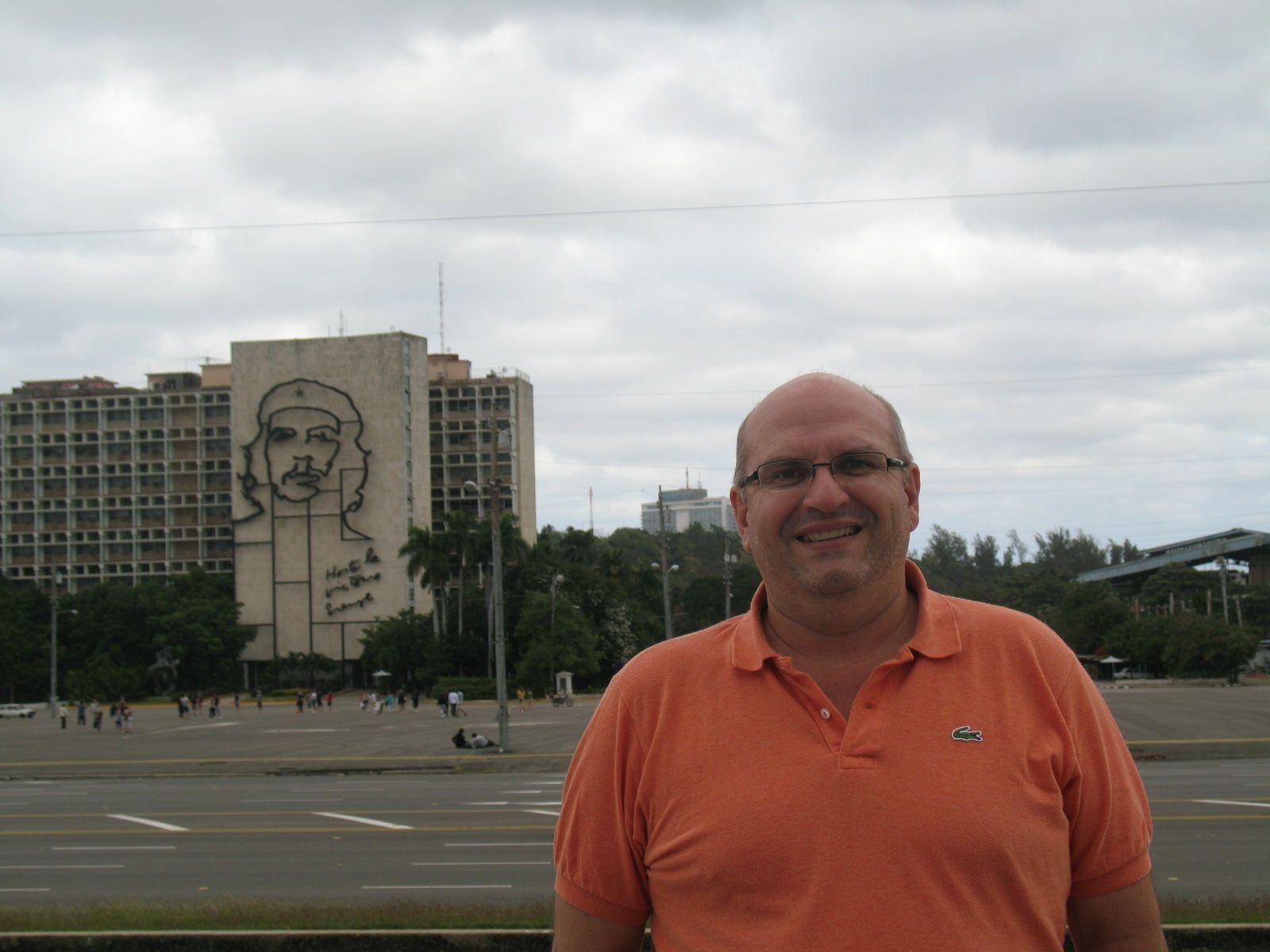 Praça da Revolução, Havana, Cuba. Foto de Fernanda Sant Anna do Espirito Santo
