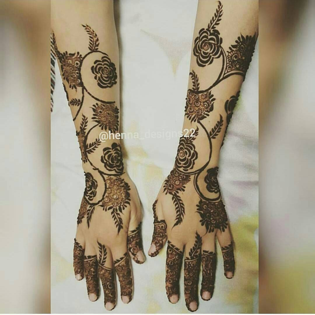 صور نقش الحناء Henna Flower Designs Dulhan Mehndi Designs Henna Patterns