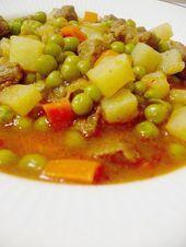 Photo of My Turkish Kitchen: ETLİ BEZELYE/ green peas w cubed meat-My…