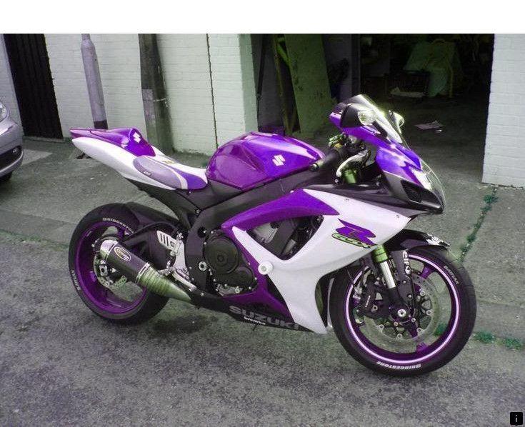 Roaring Toys Custom Yamaha Fz6r In Purple picture | Custom