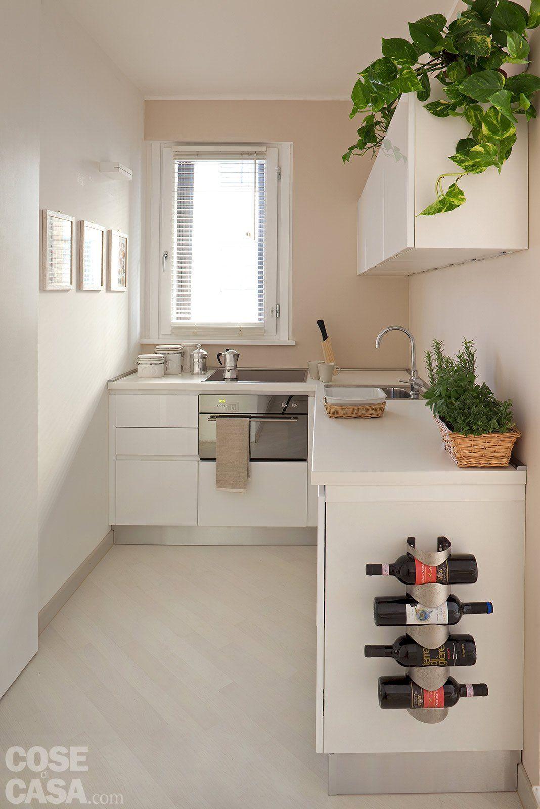 Case piccole due soluzioni diverse di 44 mq e 37 mq for for Case moderne interni cucine