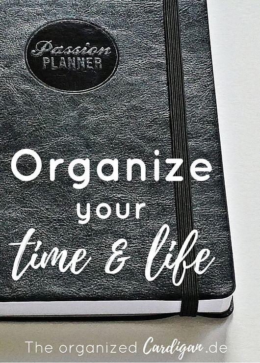 Passion Planner | Organize Your Time & Life. Planner Review über die undatierte Kalender Variante, die du jedezeit im Jahr starten kannst!