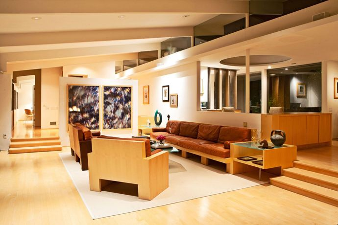 Modern Residence in California, USA: The Staller House by Richard Neutra
