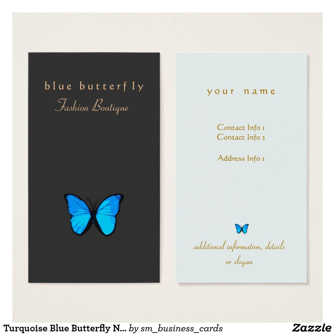 Pin by Bethany Christian on Business Cards | Pinterest | Blue ...