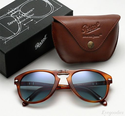 f5c73c3e1342 Persol 714 SM sunglasses - Honey Tortoise w/ Blue gradient Polarized ...