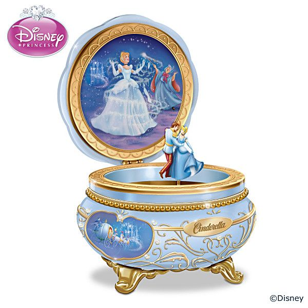 Disney Celebrating Cinderella Music Box I needDisney Pinterest
