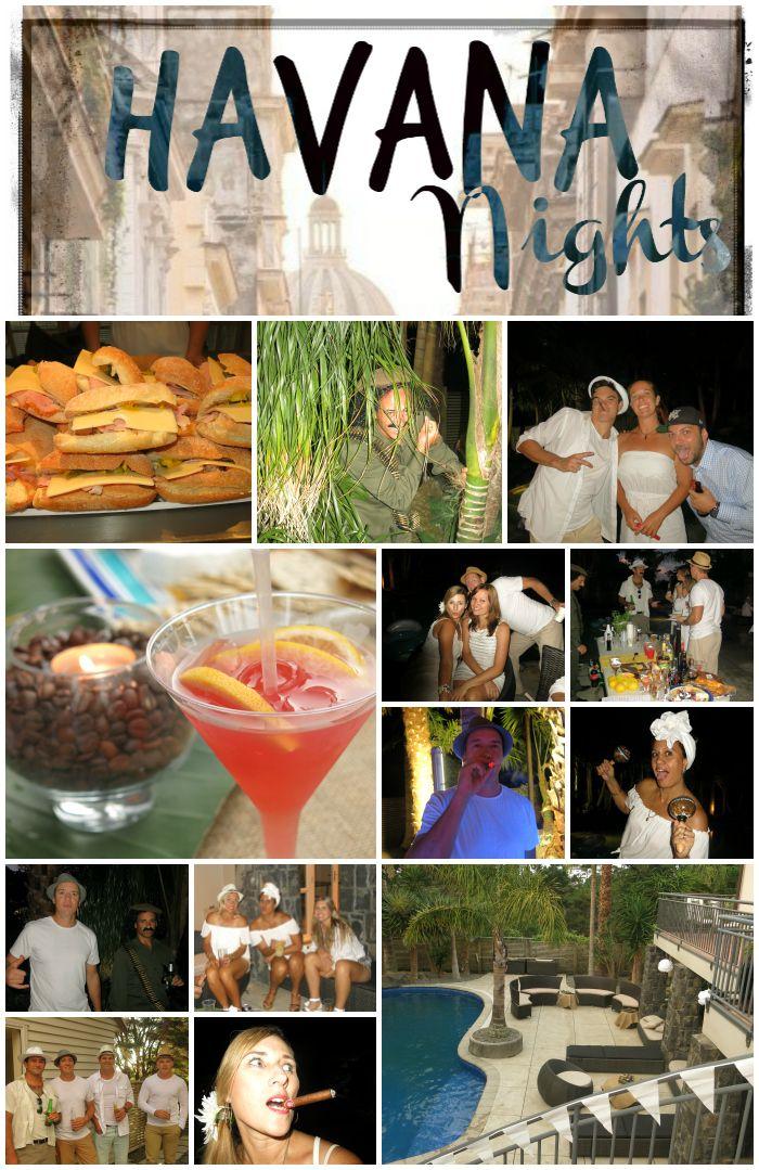 Havana Nights Party. Dress in white; Fedora Hats; Cuban ...